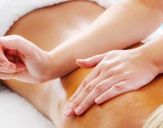 Combination of Swedish massage and Deep Tissue