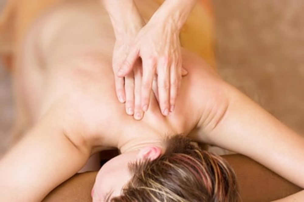 Back Neck and Shoulders Massage Naples, FL